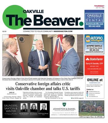 Oakville Beaver, 12 Jul 2018