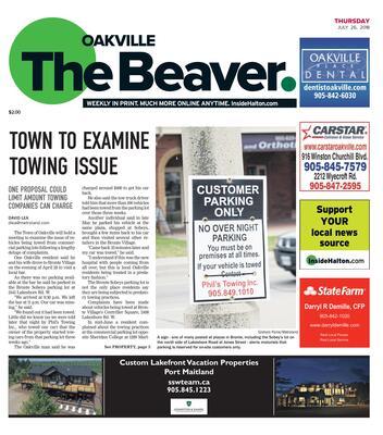 Oakville Beaver, 26 Jul 2018