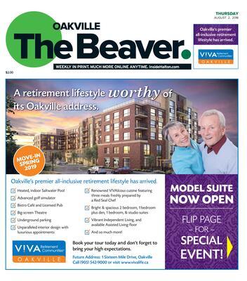 Oakville Beaver, 2 Aug 2018
