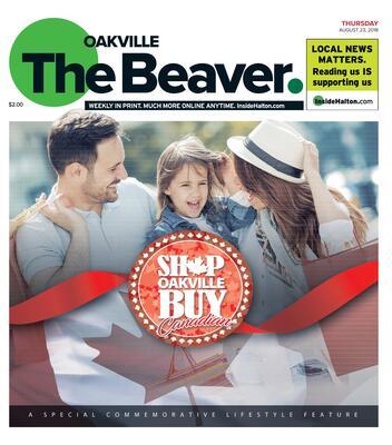 Oakville Beaver, 23 Aug 2018