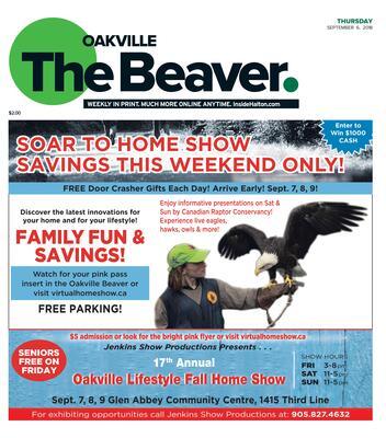 Oakville Beaver, 6 Sep 2018