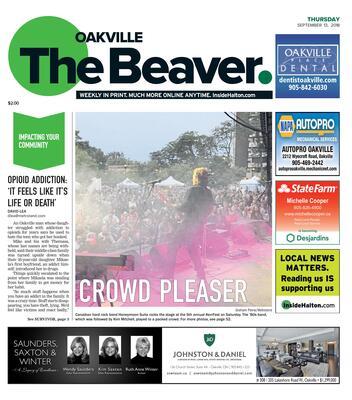 Oakville Beaver, 13 Sep 2018