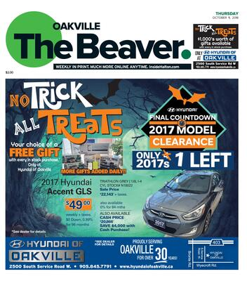 Oakville Beaver, 11 Oct 2018