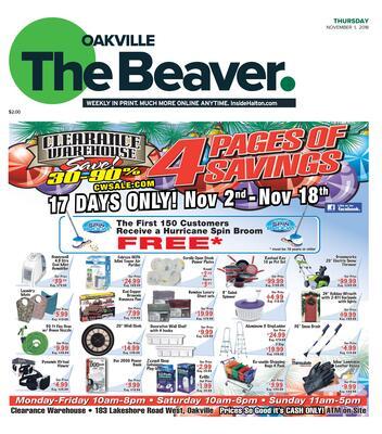 Oakville Beaver, 1 Nov 2018