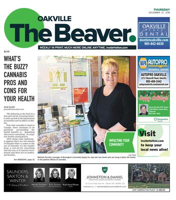 Oakville Beaver, 27 Dec 2018
