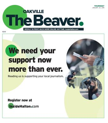 Oakville Beaver, 24 Jan 2019