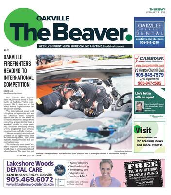 Oakville Beaver, 7 Feb 2019