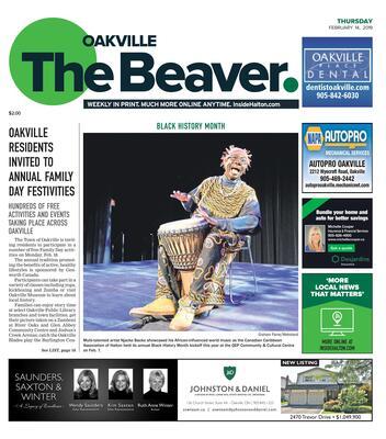 Oakville Beaver, 14 Feb 2019