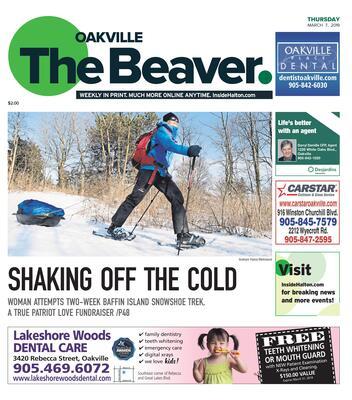 Oakville Beaver, 7 Mar 2019