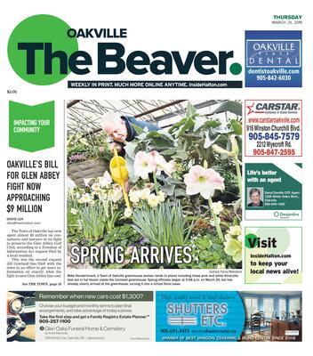 Oakville Beaver, 21 Mar 2019