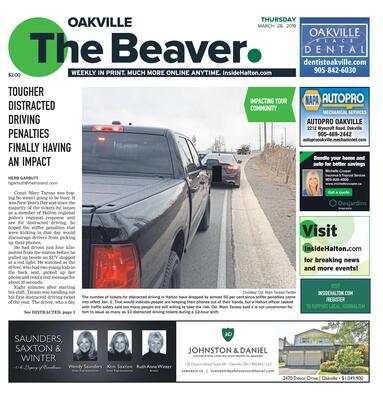 Oakville Beaver, 28 Mar 2019