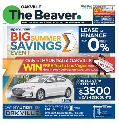 Oakville Beaver, 6 Jun 2019