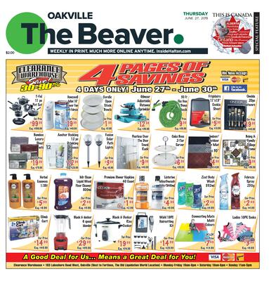 Oakville Beaver, 27 Jun 2019