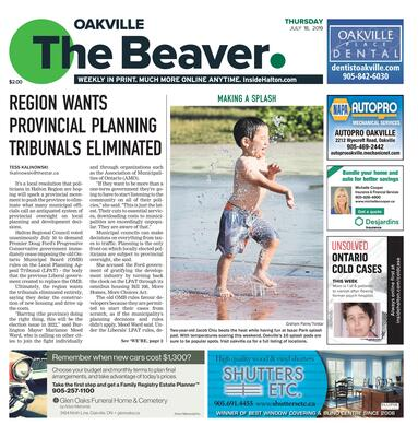 Oakville Beaver, 18 Jul 2019