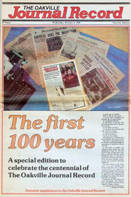 Oakville Journal Record