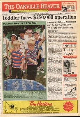 Oakville Beaver, 17 Jun 1994