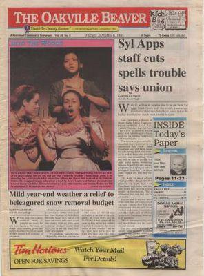Oakville Beaver, 6 Jan 1995