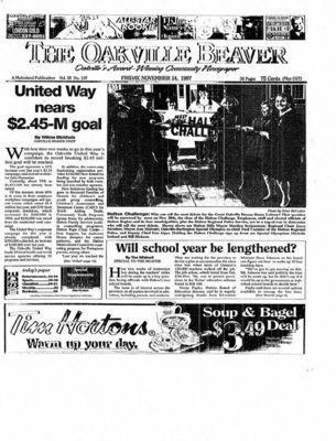 Oakville Beaver, 14 Nov 1997