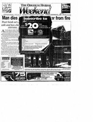 Oakville Beaver, 23 Nov 1997