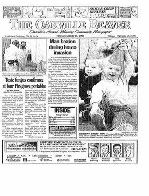 Oakville Beaver, 20 Mar 1998