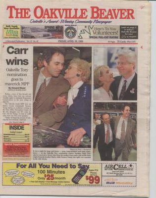 Oakville Beaver, 16 Apr 1999
