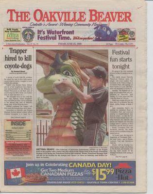 Oakville Beaver, 25 Jun 1999