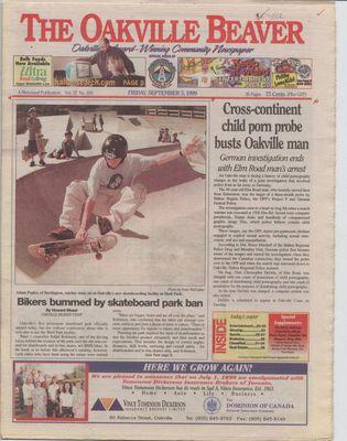 Oakville Beaver, 3 Sep 1999