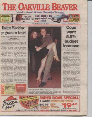 Oakville Beaver, 28 Jan 2000