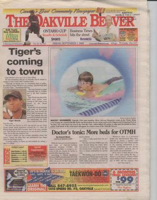 Oakville Beaver, 1 Sep 2000