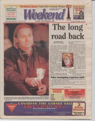 Oakville Beaver, 24 Sep 2000