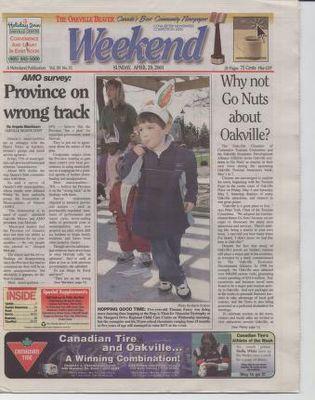 Oakville Beaver, 29 Apr 2001