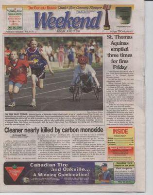 Oakville Beaver, 17 Jun 2001
