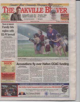 Oakville Beaver, 6 Jul 2001