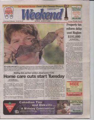 Oakville Beaver, 5 Aug 2001