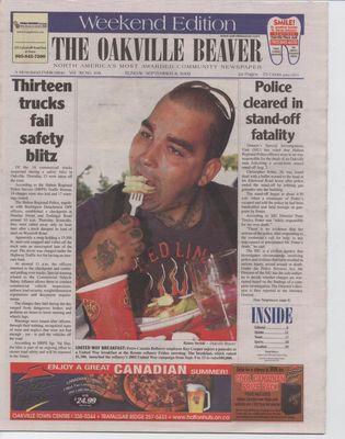 Oakville Beaver, 8 Sep 2002
