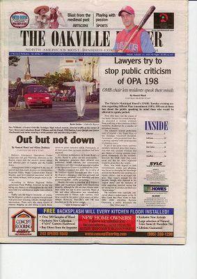 Oakville Beaver, 15 Aug 2003