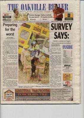 Oakville Beaver, 15 Oct 2004