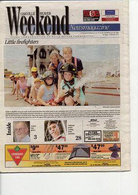 Oakville Beaver, 16 Jul 2005