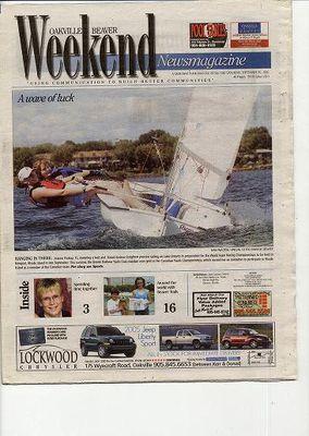 Oakville Beaver, 10 Sep 2005