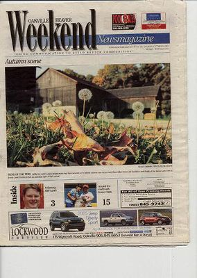 Oakville Beaver, 8 Oct 2005