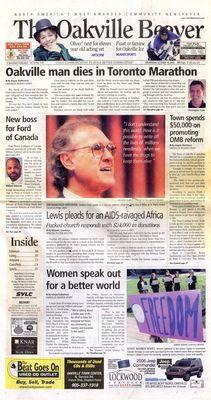 Oakville Beaver, 19 Oct 2005