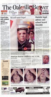 Oakville Beaver, 9 Nov 2005