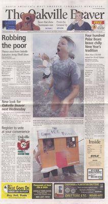 Oakville Beaver, 4 Jan 2006