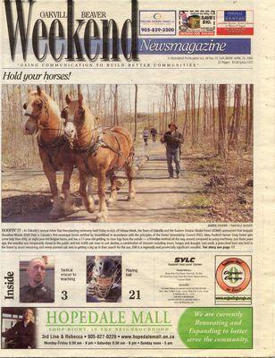 Oakville Beaver, 29 Apr 2006