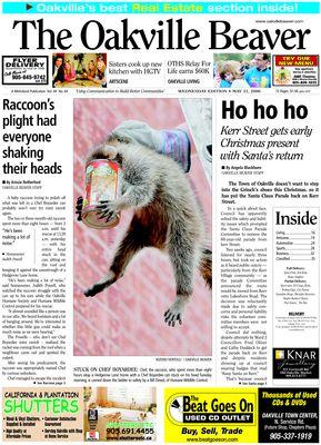 Oakville Beaver, 31 May 2006