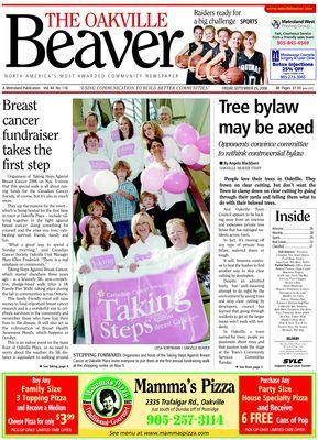 Oakville Beaver, 29 Sep 2006