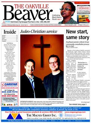 Oakville Beaver, 6 Feb 2009