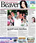 Oakville Beaver4 Aug 2010