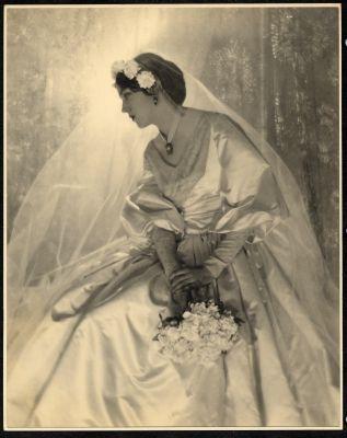 Juliet Chisholm wedding photograph