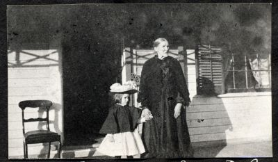 Hazel Chisholm and Grandmother Sarah B.C.